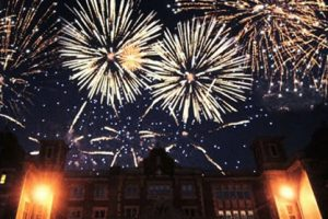 Hampton Court Fireworks Display
